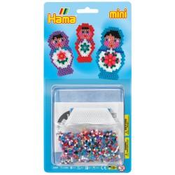 Babushkadukker, matrjosjkadukker - HAMA Mini perler