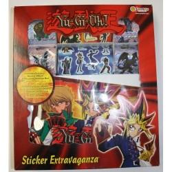 Yu-Gi-Oh! stickerboks med mange klistermærker og album