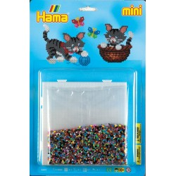 Katte - HAMA Mini perler