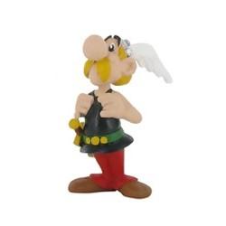 Asterix står stolt, flot, dekoreret figur fra Asterix, samlerobjekt