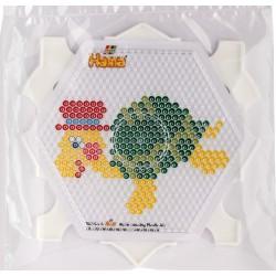 Rammepakke, sekskantet plade med multiramme og mønstre