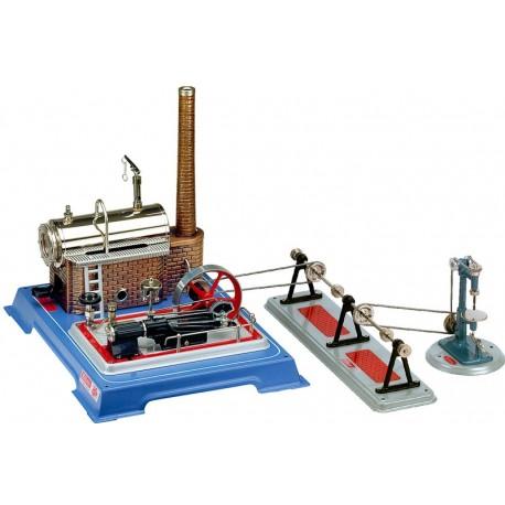 Dampmaskine, Wilesco D 165 med værktøj, 250 ml kedel