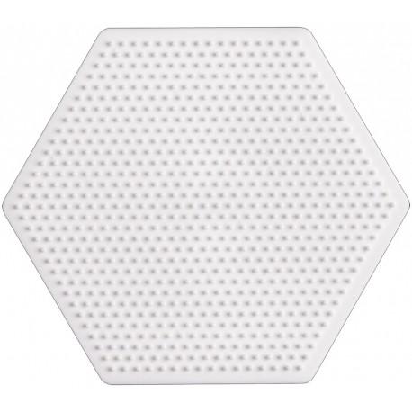 Sekskantet stiftbund, pigplade - HAMA Mini perler