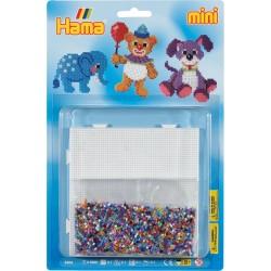 Bamser og tøjdyr - HAMA Mini perler
