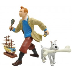 Tintin og Terry, actionfigurer med tilbehør