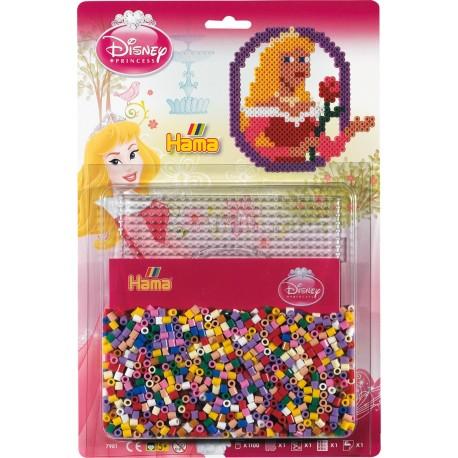 Disney prinsessen Tornerose, 1100 HAMA midi perler
