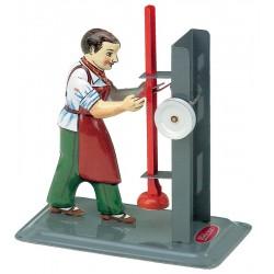 Rambuk, figurmodel til dampmaskine. M 75.