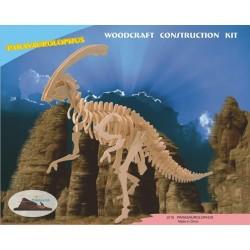 Parasaurolophus, 3D-puslespil i træ
