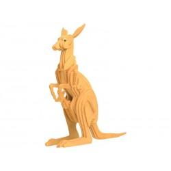 Kænguru, 3D-puslespil i træ