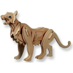 Puma, 3D-puslespil i træ