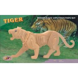 Tiger, 3D-puslespil i træ