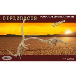 Diplodocus, 3D-puslespil i træ