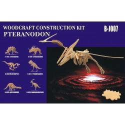 Pteranodon, stor 70x120x33 cm, 3D-puslespil i træ