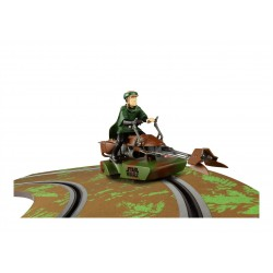 Luke Skywalker Z-74 Speeder Bike, Star Wars, Scalextric C3298