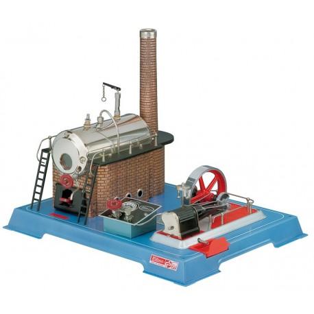 Dampmaskine, Wilesco D 24, 570 ml kedel