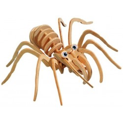 Fugleedderkop (tarantula), 3D-puslespil i træ