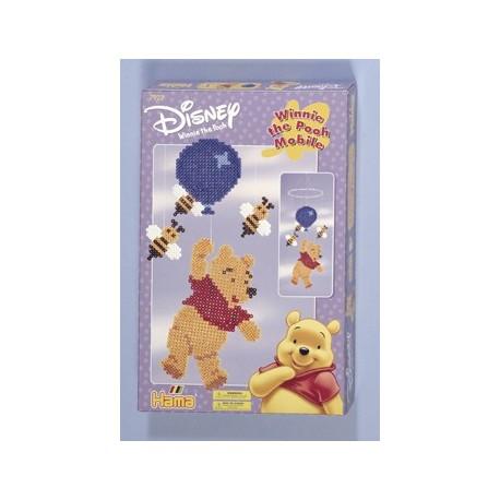 Disney Peter Plys med balloner og bier, uro, 3000 HAMA midi perler