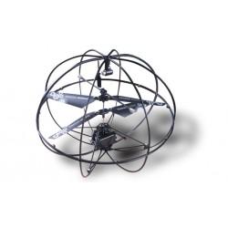 UFO, fjernstyret flyvende kugle. IR-styring. Batteridrevet.