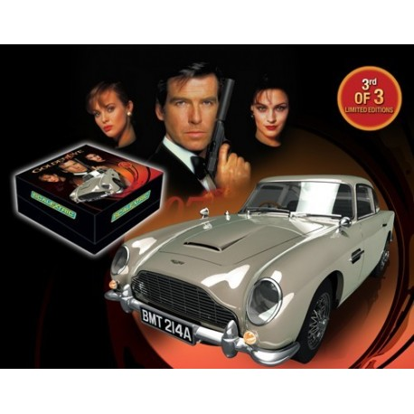 James Bond, Aston Martin DB5, Golden Eye, Limited Edition, Scalextric C3163A