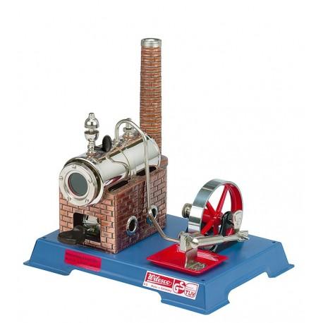 Dampmaskine, Wilesco D 6, 135 ml kedel