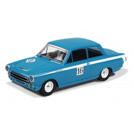 Ford Cortina, lyseblå, Monza Historic Car Championship, Scalextric C3307