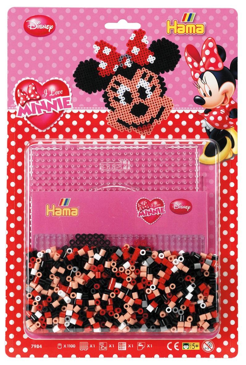 Disney Minnie Mouse 1100 Hama Midi Perler 7984