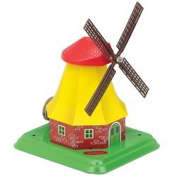 Hollandsk mølle, vindmølle, model til dampmaskine. M 68