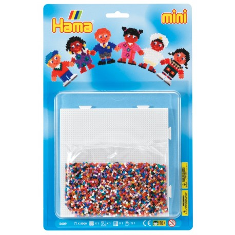 Verdens børn - HAMA Mini perler