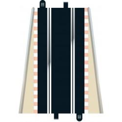 Lige banestykker, standard, 350 mm, 2 stk, Scalextric