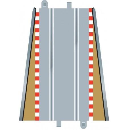 Afgrænsning og barriere, ind- og udløb, 350 mm, 2 stk Scalextric