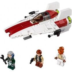 A- wing Starfighter fra Return of the Jedi. LEGO Star Wars 75003.