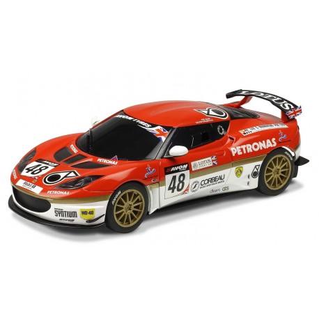 Lotus Evora GT4, nr. 48 med Bolisetti og Glew. Scalextric C3379