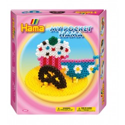 Cupcakes, chokokringle og tekop. My Pocket Hama. 1000 perler
