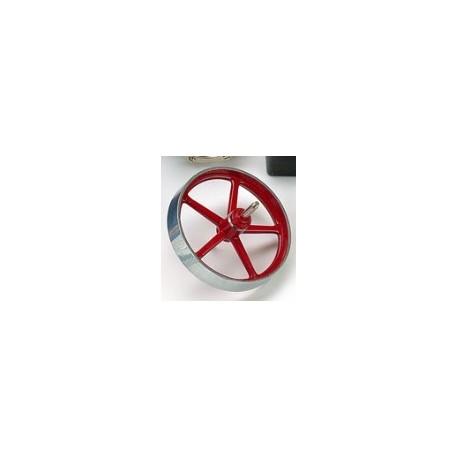 Svinghjul til dampmaskine. 70 mm. Wilesco 01674
