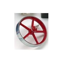 Svinghjul til dampmaskine. 70 mm til D 12 Wilesco 01676