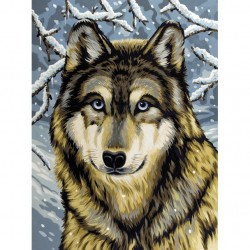 Mal efter tal, ulv. Reeves PPNJ67