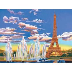 Mal efter tal (Senior), Eiffeltårnet. Reeves PL93