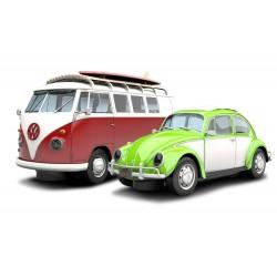 VW boble og rugbrød. Sand & Surf to fede folkevogne Scalextric C3371A