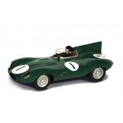 Jaguar D-type nr. 1. Mike Hawthorn, Desmond Titterington. C3486