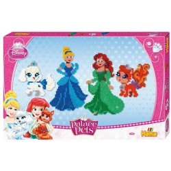 Disney Prinsesser: Ariel, Askepot, Treasure, Pumpkin. 6000 hamaperler