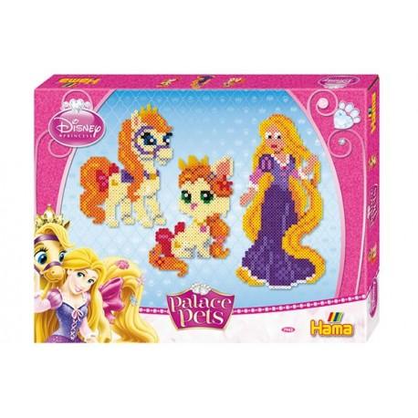 Disney Prinsesser: Rapunzel, Blondie og Summer. 4000 HAMA midi perler