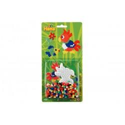 Papegøje, 450 HAMA midi perler