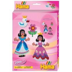 Prinsesser i uro. 2000 HAMA midi perler