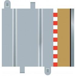 Afgrænsning og barriere, lige, 175 mm, 4 stk Scalextric