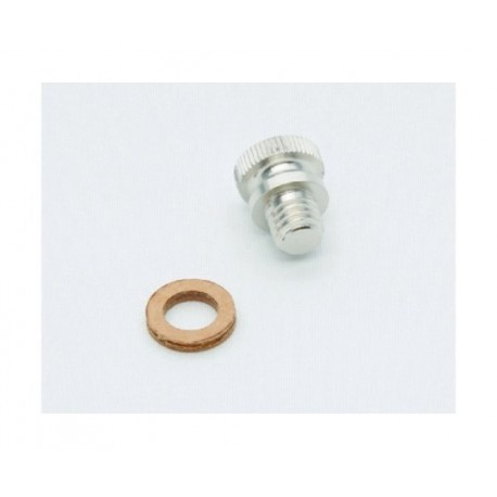 Smørenippel, olieskrue til dampmaskine D 16, D 18, D 20, D 24. Wilesco 01509