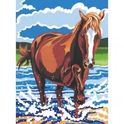 Mal efter tal, pony, hest. Reeves PPNJ50