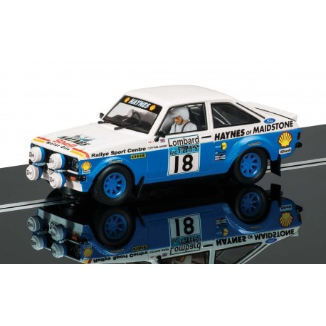 Ford Escort Mk II, John Taylor, Phil Short, Scalextric C3636