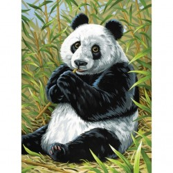 Mal efter tal, panda. Reeves PPNJ68