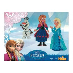 Disney Frost (Frozen), Anna, Elsa og Olaf, 4000 HAMA midi perler