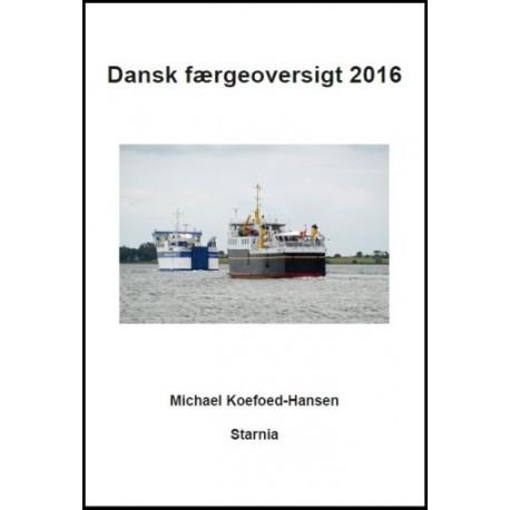 Dansk færgeoversigt 2016, Starnia
